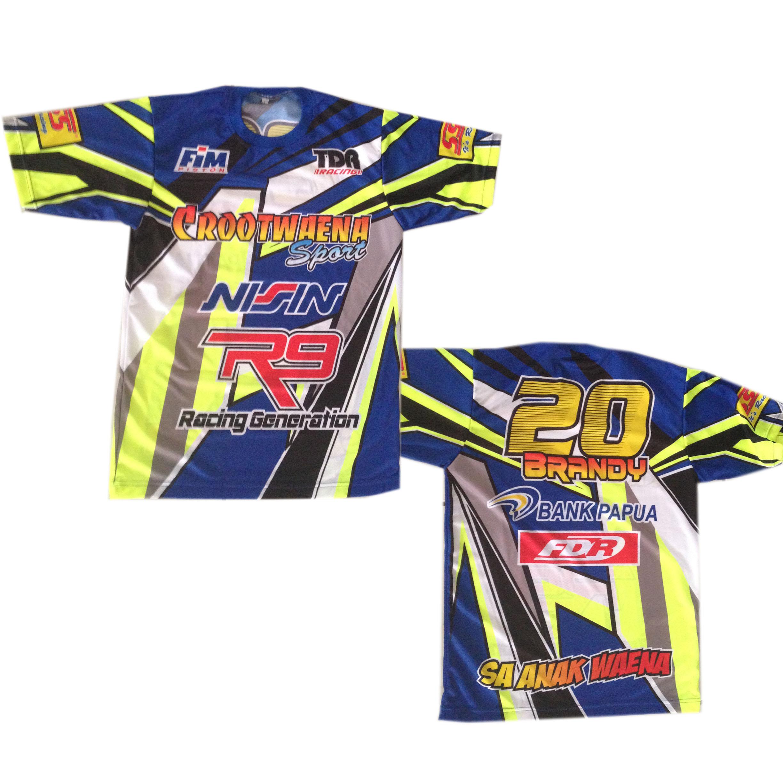 Desain t shirt racing - Crootwaena_sport